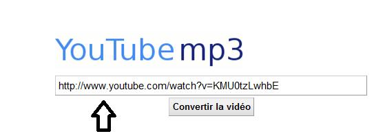 CONVERTIR UNE VIDEO YOU TUBE EN MP3 S210
