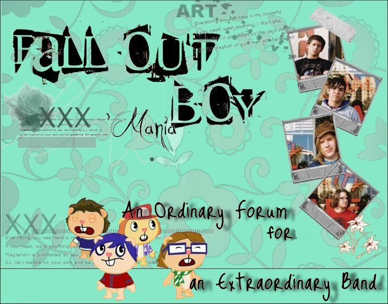 Fall Out Boy'Mania