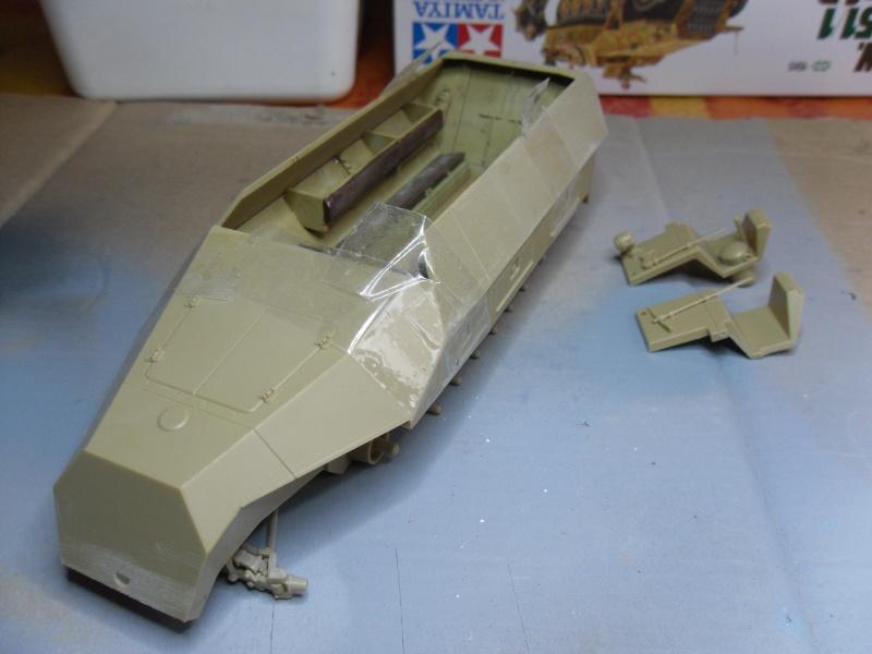Sd.Kfz 251/1 - Ausf.D Tamiya 1/35-Maj 17/09/11 Sam_0032