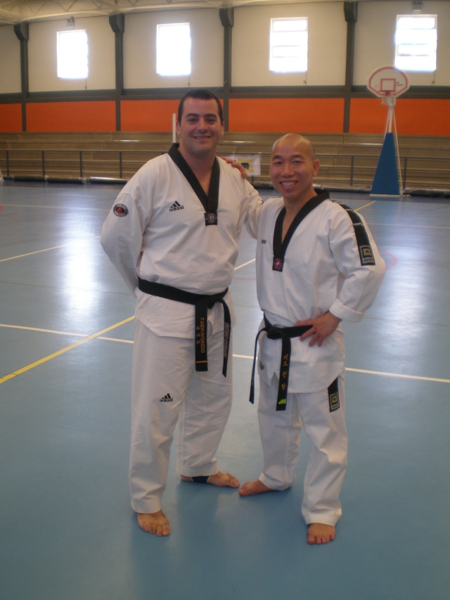 V Seminario Internacional Taekwondo AEHT Pa050110