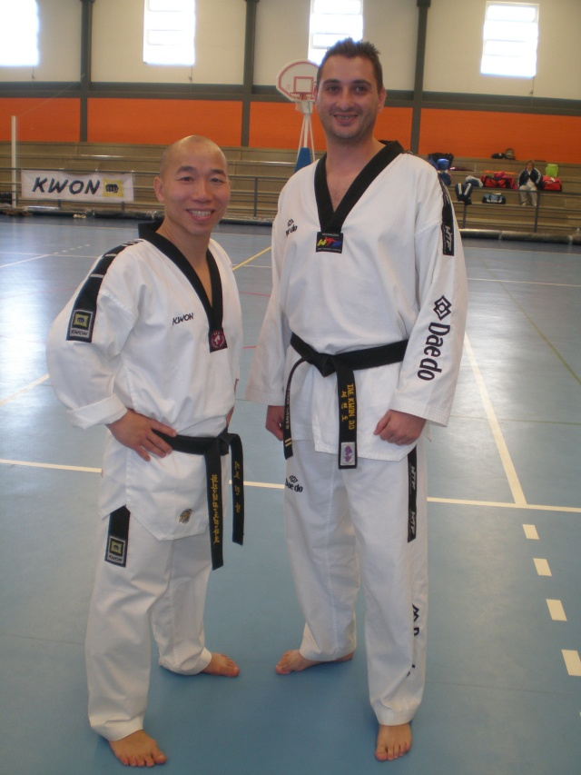 V Seminario Internacional Taekwondo AEHT Pa050111