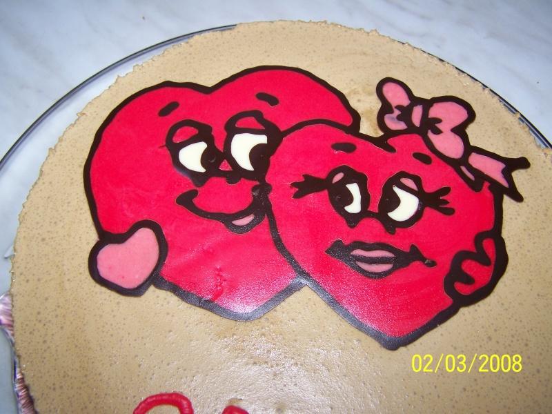 Coeurs en chocolat Bavaro12