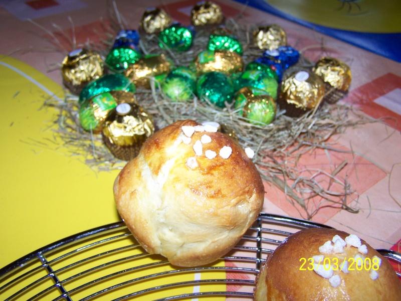 Petites brioches/ briochettes légères au yahourt Brioch10