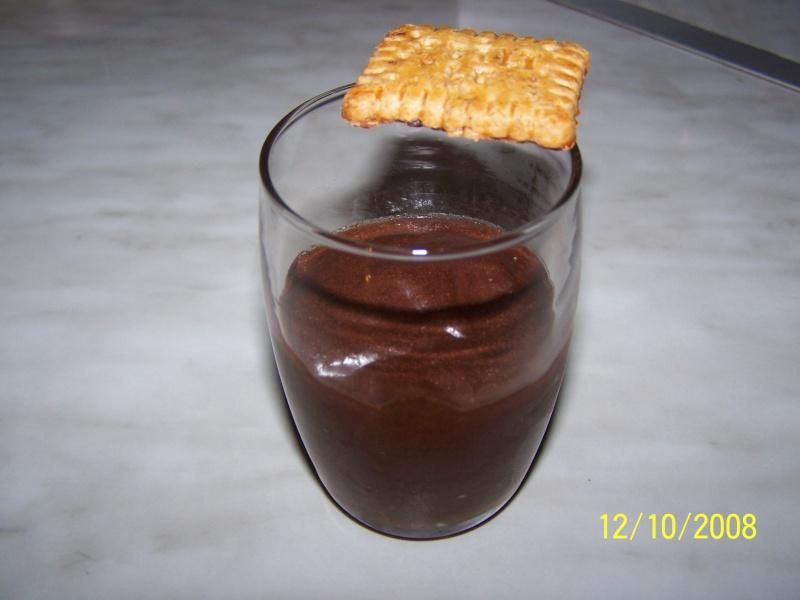 Mousse au chocolat aux épices Mousse11
