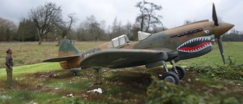 "P-40 E ""Flying Tiger"" Hasegawa 1/48  Dsc00310"