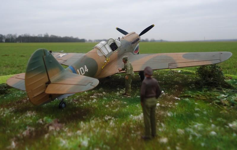 "P-40 E ""Flying Tiger"" Hasegawa 1/48  Dsc00314"