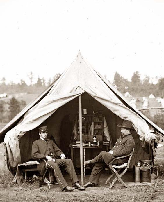 tentes old west Civil-10