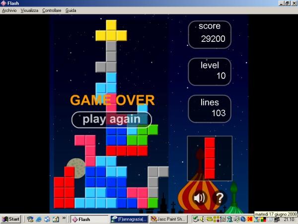 sfida a tetris Punteg13