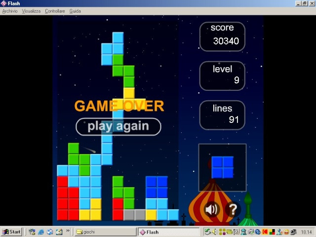 sfida a tetris Tetris10
