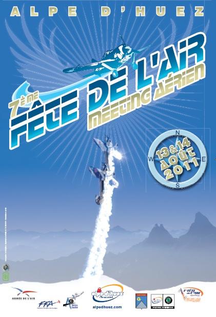 Fête de l'Air 2011 Alpe d'Huez Affich15