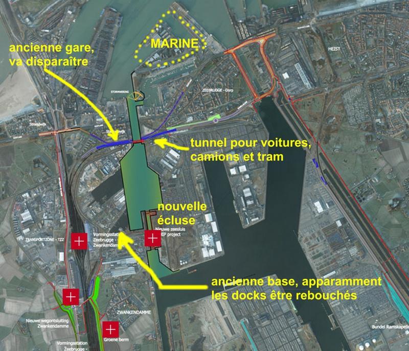 Projet d'une nouvelle grande écluse à Zeebrugge Zeeb112