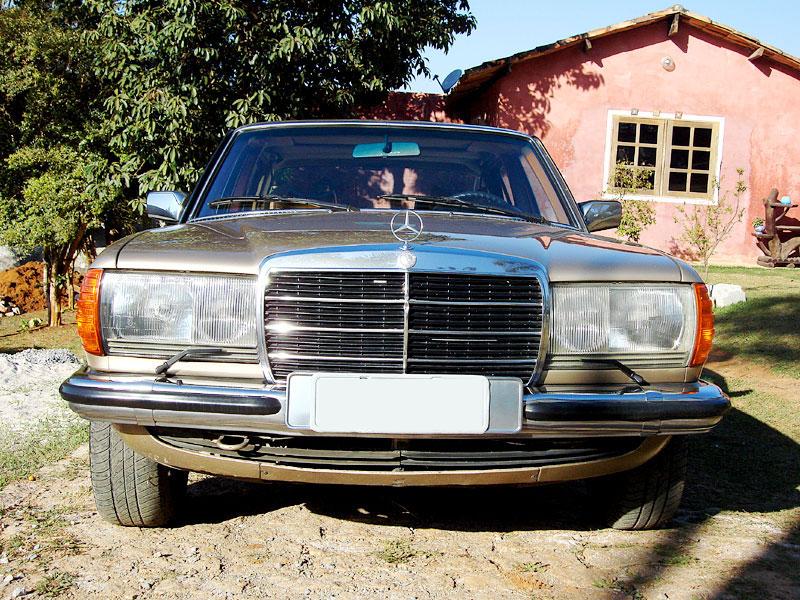 Vendo W123 280E 1979. r$ 20.000,00 Mb0110