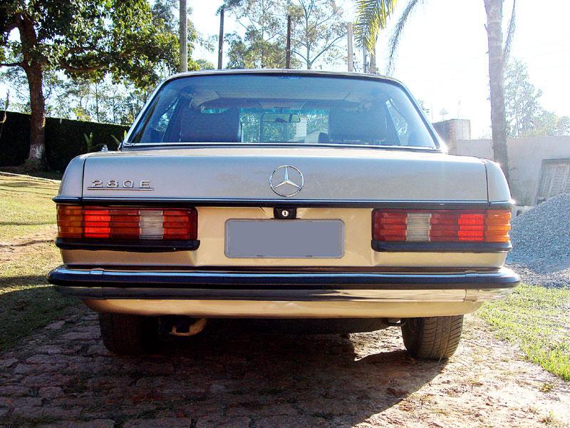 Vendo W123 280E 1979. r$ 20.000,00 Mb0210