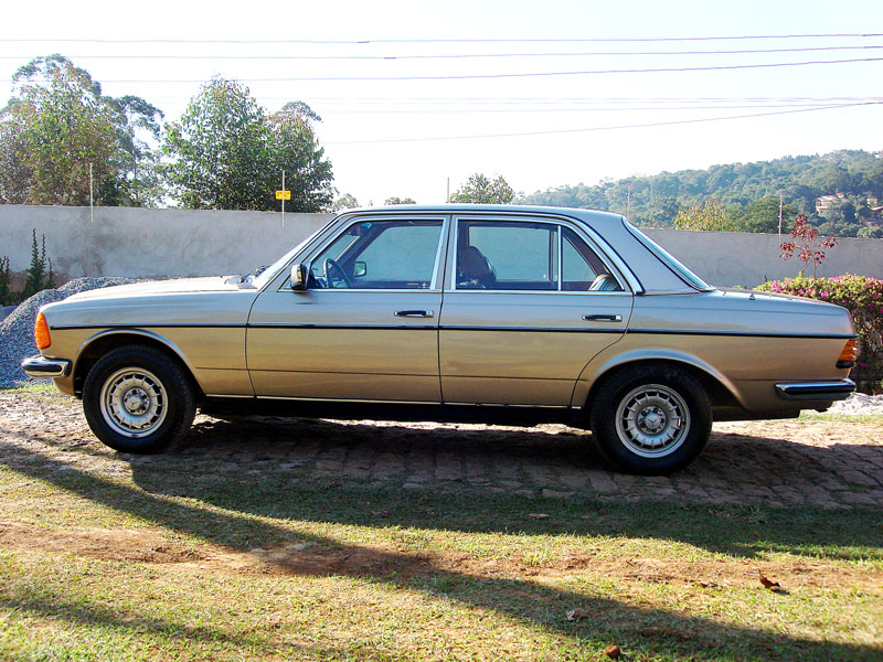 Vendo W123 280E 1979. r$ 20.000,00 Mb0310