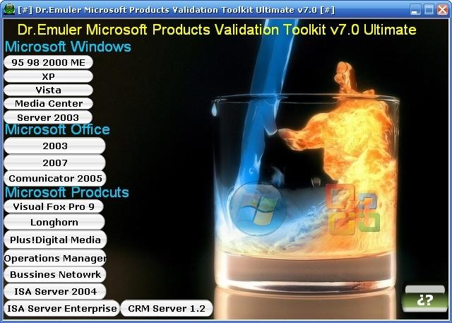 Microsoft Validation total 100% 2008-010