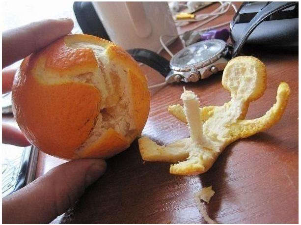 Un jus d'orange avant de prendre la route !... Vitami10