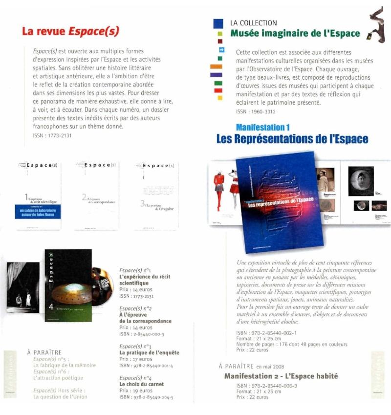 Livres : publications de l'Observatoire de l'Espace Cnes10
