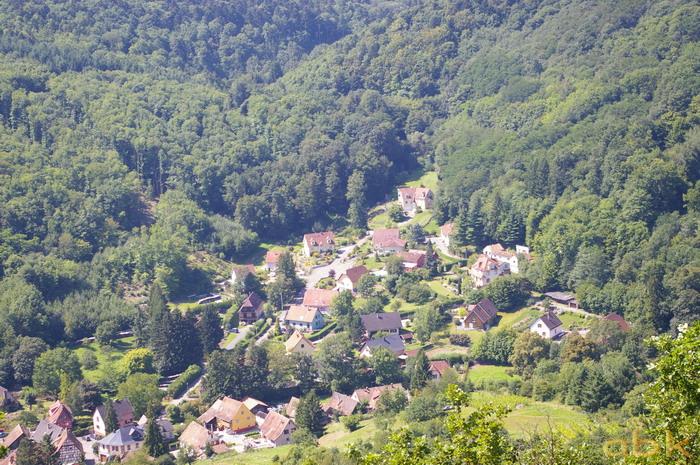 Vue depuis le Rocher Ste-Richarde Imgp2614