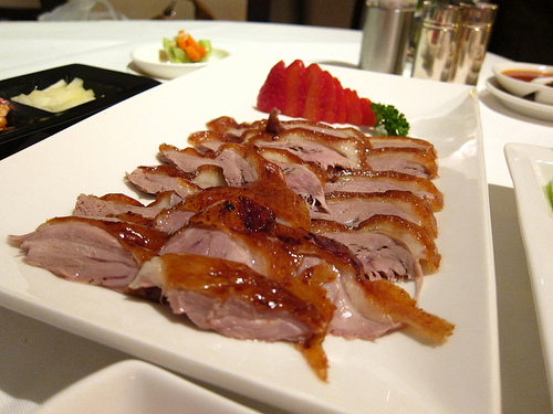 Tản mạn Vịt quay Bắc Kinh  07042012