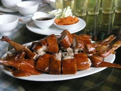 Tản mạn Vịt quay Bắc Kinh  07042013