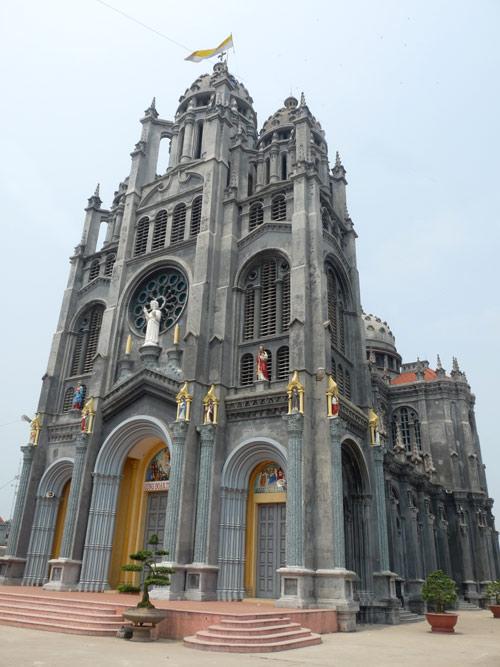 Những nhà thờ đẹp ở Nam Định 1017