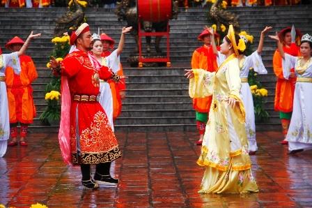 Lễ hội đền Huyền Trân 10293510