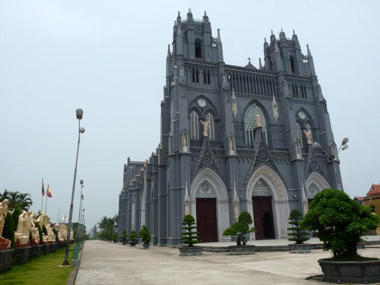 Những nhà thờ đẹp ở Nam Định 120
