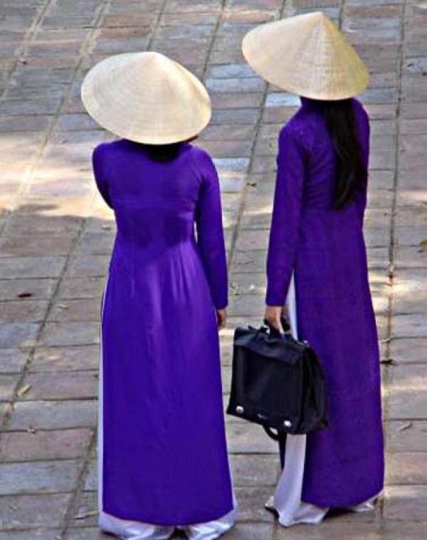 Đồng phục áo dài của nữ sinh Việt qua các thời kỳ  12042312