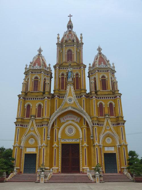 Những nhà thờ đẹp ở Nam Định 1513