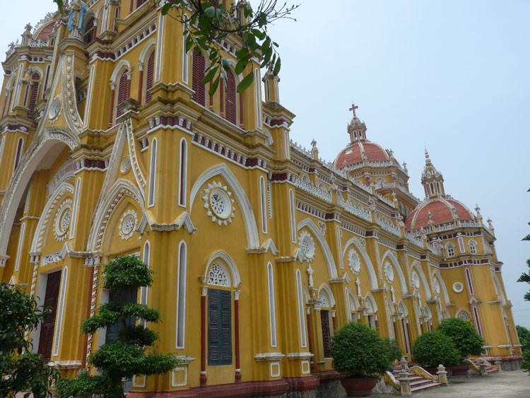 Những nhà thờ đẹp ở Nam Định 1613