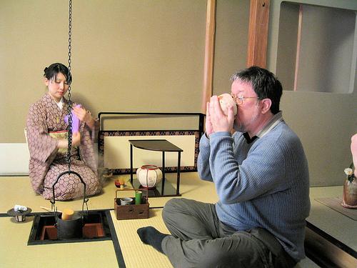 Những điều thú vị trong trà đạo của người Nhật  20042012