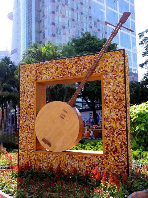 Đường hoa Nguyễn Huệ ngày Tết  20120115