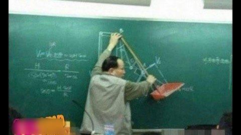 Những tư thế giảng bài 'độc' của giáo viên  20120410