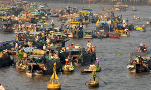 Chợ hoa nổi trên sông Cho-ho10