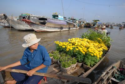Chợ hoa nổi trên sông Cho_ho11