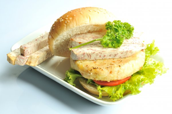Burger rau củ Hnx_8212