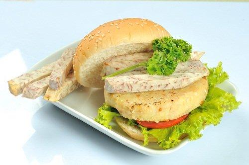 Burger rau củ Hnx_8213
