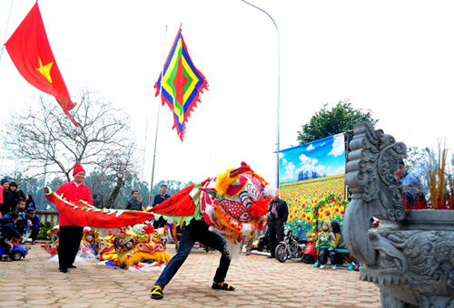 Lễ hội làng Triều Khúc Images19