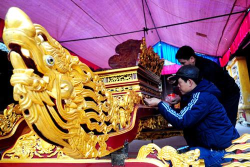 Lễ hội làng Triều Khúc Images22