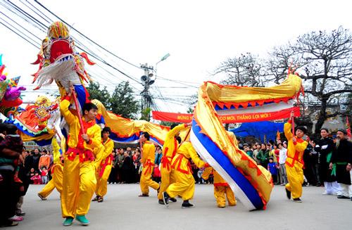 Lễ hội làng Triều Khúc Images29