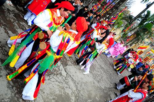Lễ hội làng Triều Khúc Images30
