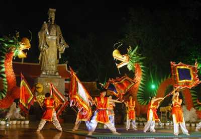 Lễ hội làng Triều Khúc Muacha10