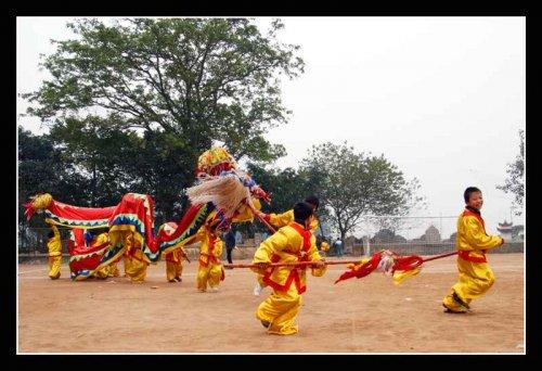 Lễ hội làng Triều Khúc Muaron10
