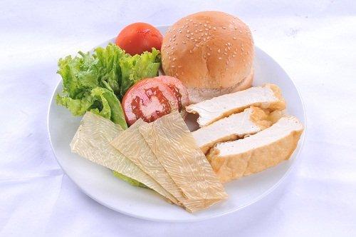 Burger rau củ Nguyen10