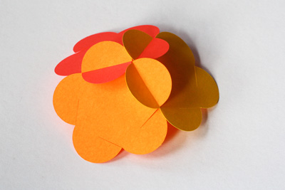 Cách làm quả cầu hoa 3D Qua-ca12
