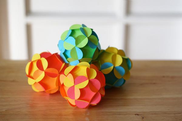 Cách làm quả cầu hoa 3D Qua-ca13
