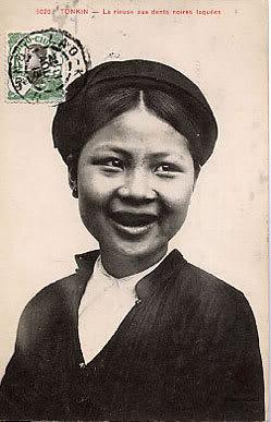 Tục nhuộm răng của người Việt Nam Rangde10