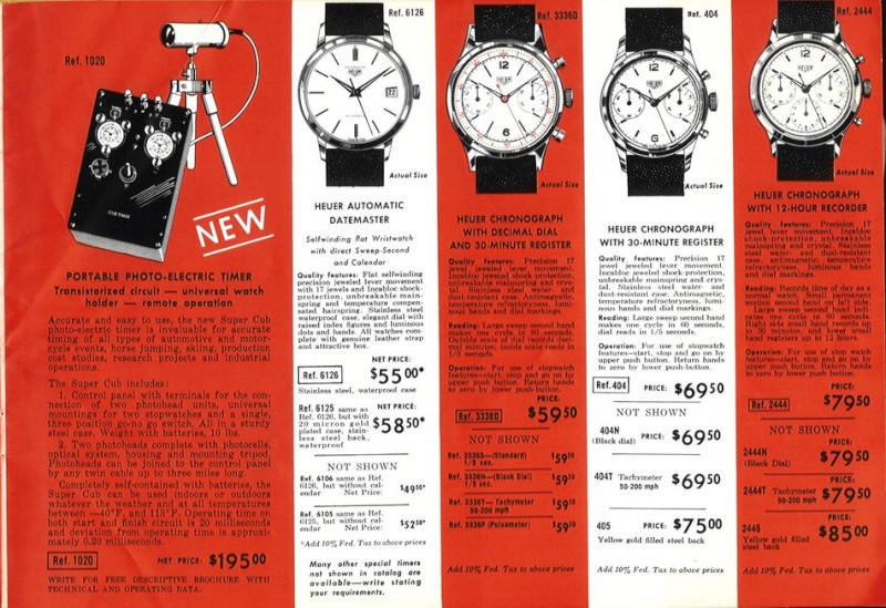 Evolution du prix des montres de qualité P1310