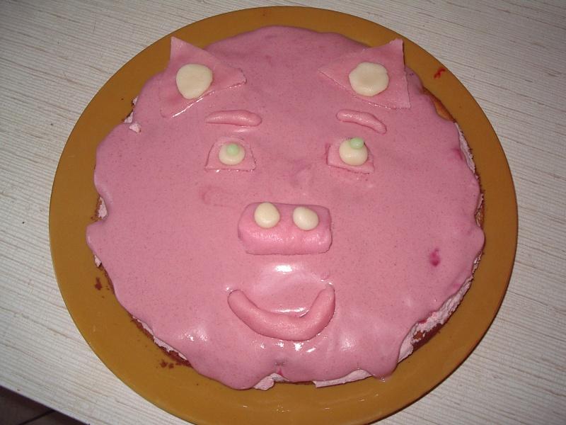 cochon et truie Gateau10