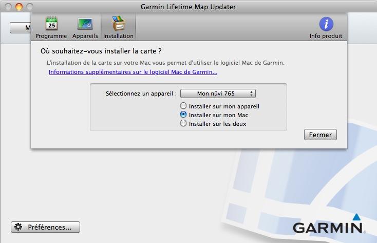 Garmin Lifetime Updater sans passer par le site myGarmin Captur19